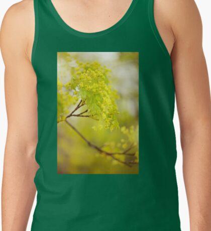 Acer flowering twig detail Tank Top