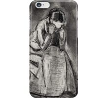 Weeping Woman(after Van Gogh) iPhone Case/Skin