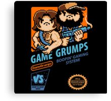 Game Grumps NES Cover Canvas Print