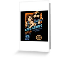 Game Grumps NES Cover Greeting Card