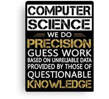 computer science Canvas Print