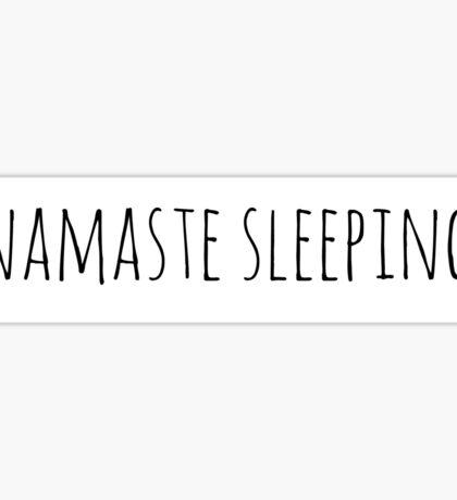 Namaste Sleeping Sticker