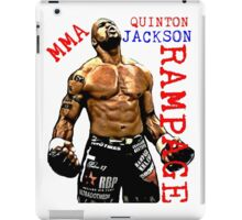 MMA RAMPAGE JACKSON iPad Case/Skin