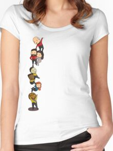 Chibi TNG Crew Women's Fitted Scoop T-Shirt