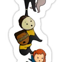 Chibi TNG Crew Sticker