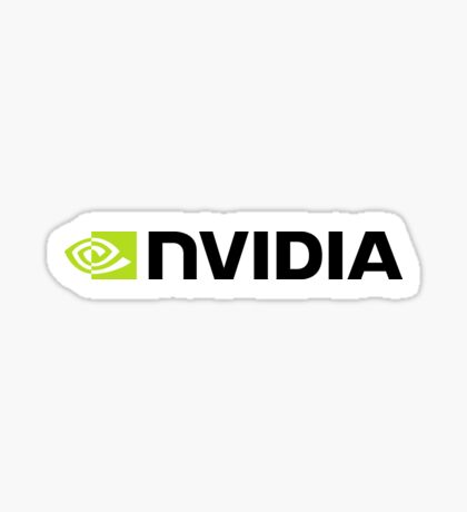 NVIDIA Horizontal Sticker