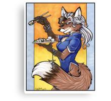 Sushi Fox Canvas Print