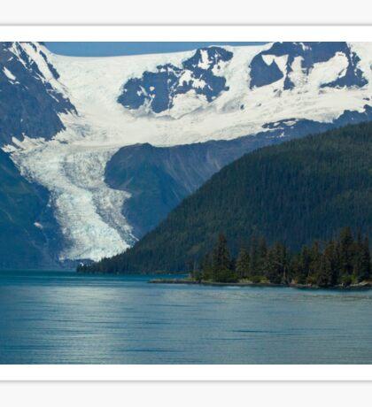 Alaskian Glacier Sticker