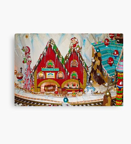 Gingerbread House Study 1  Canvas Print