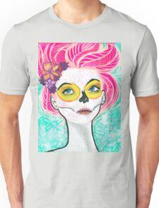 Dia De Los Pink Unisex T-Shirt