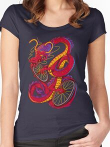 Dragon Bike Women's Fitted Scoop T-Shirt