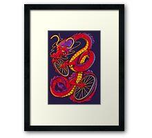 Dragon Bike Framed Print