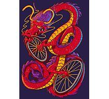 Dragon Bike Photographic Print
