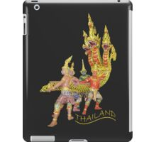 THAI serpent at the airport iPad Case/Skin
