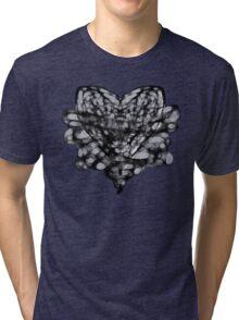 Bound Heart (LIME) Tri-blend T-Shirt