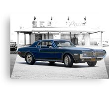 1968 Mercury Cougar XR-7 GT Metal Print