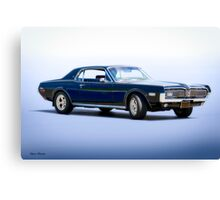1968 Mercury Cougar XR-7 GT 'Studio' Canvas Print