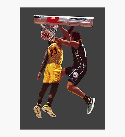 Malcolm Brogdon Dunk on LeBron James Photographic Print