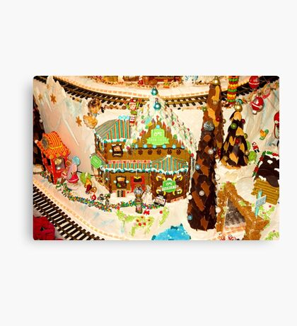 Gingerbread House Study 2  Canvas Print