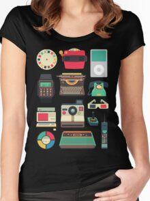 Retro Technology 2.0 Women's Fitted Scoop T-Shirt