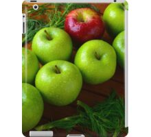 """"""" We are all apples!"""" iPad Case/Skin"""