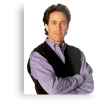 Straight Up Seinfeld Metal Print