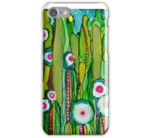 """""""Moongarden"""" - Playful, Colorful, Original Painted Creation! iPhone Case/Skin"""