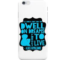 Albus Dumbledore Quote Typography iPhone Case/Skin