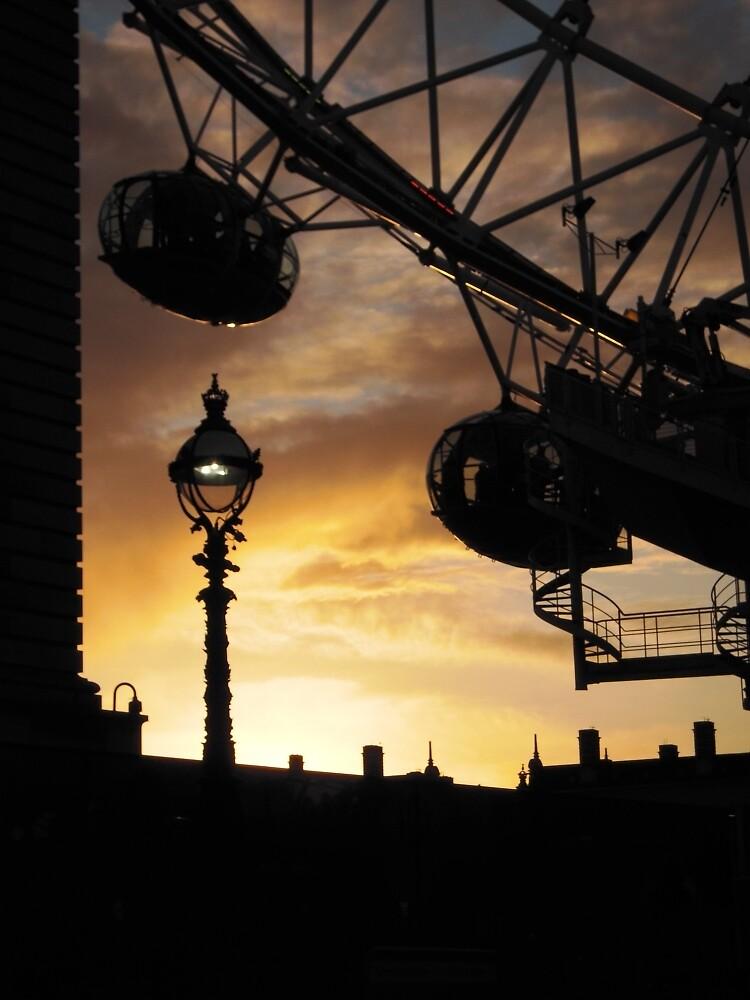 London Eye #1 by Graham Geldard