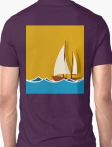 Sailing boat background T-Shirt