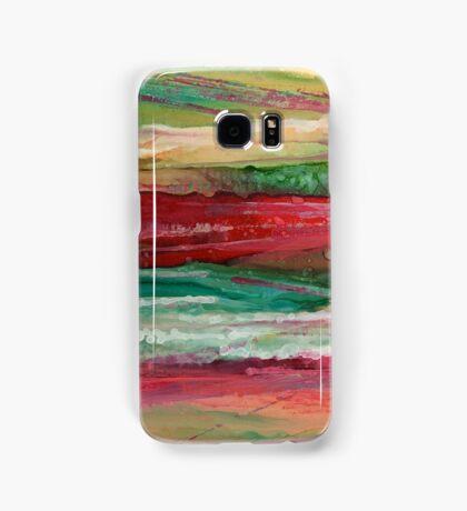 """Strata"" - Unique, colorful, original painted design! Samsung Galaxy Case/Skin"
