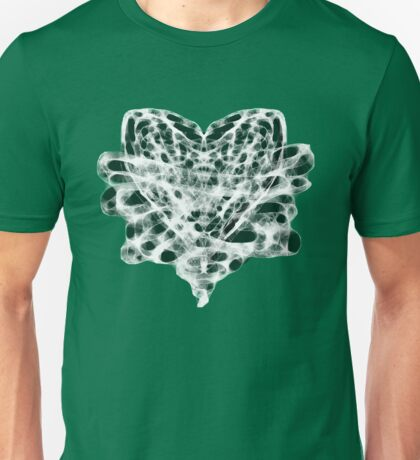 Bound Heart (INVERT) (LIME) Unisex T-Shirt