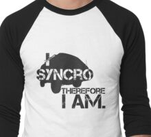 I syncro therefore i am Men's Baseball ¾ T-Shirt