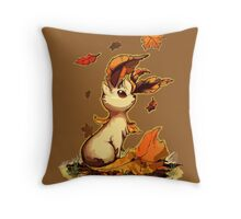 Leafeon Throw Pillow