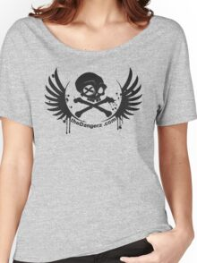 theDangerz (with address) Women's Relaxed Fit T-Shirt
