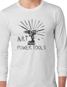 Art Power Tools Long Sleeve T-Shirt