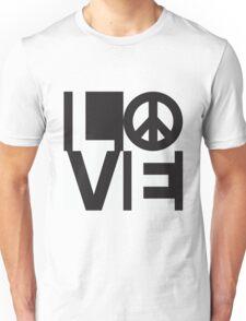 Love Equals Peace Unisex T-Shirt