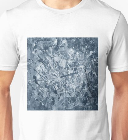 Abstract black painting Unisex T-Shirt