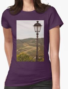 old lamp Womens Fitted T-Shirt