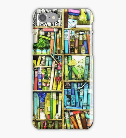 Bookshelf Fantasy iPhone Case/Skin