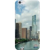 Chicago river iPhone Case/Skin