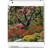 Abkhazi Gardens Victoria Vancouver Island BC iPad Case/Skin