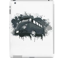 VW Bus Splatter iPad Case/Skin