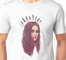 Forest wild redhead Unisex T-Shirt
