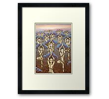 Womanity Framed Print