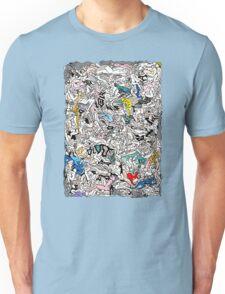Kamasutra LOVE Doodle Unisex T-Shirt
