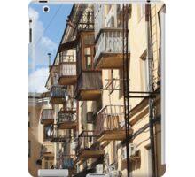 Balconies like birdhouses iPad Case/Skin