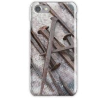 old nail iPhone Case/Skin
