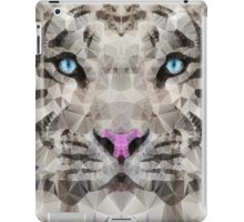 abstract white tiger iPad Case/Skin