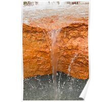 fountain gushing Poster